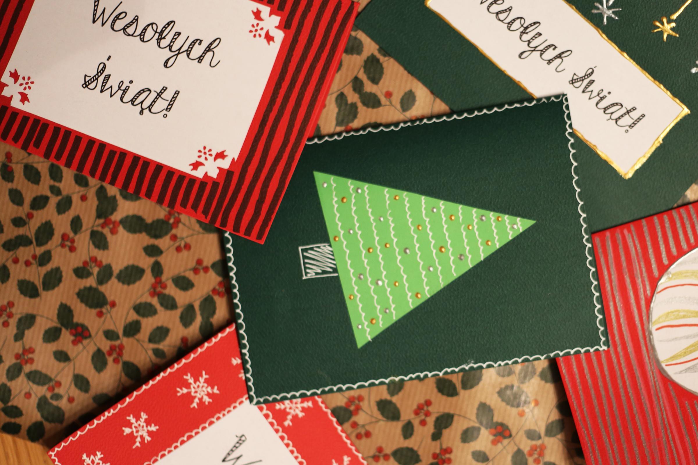 Jak zrobić kartki świąteczne
